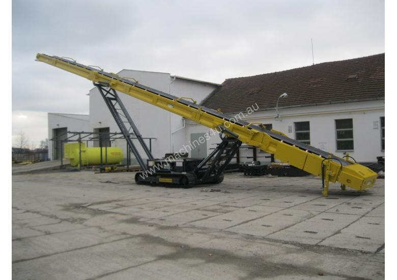 Track mounted S5 Stacker