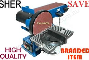 Linisher Belt & Disk 4 x 6'' SHER POWER TOOL = New