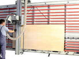 LEDA DPME-21x41 HEAVY DUTY VERTICAL PANEL SAW - picture6' - Click to enlarge