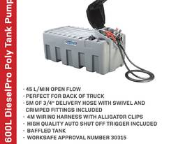 Diesel Fuel Tank 600L w/ 12V 45L/M Pump Kit - picture2' - Click to enlarge