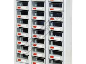 PTB-24C Parts Bin 24 Bins - 444 x 222 x 642mm A7324 - picture0' - Click to enlarge