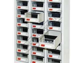 PTB-24C Parts Bin 24 Bins - 444 x 222 x 642mm A7324 - picture2' - Click to enlarge