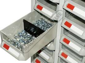 PTB-24C Parts Bin 24 Bins - 444 x 222 x 642mm A7324 - picture4' - Click to enlarge