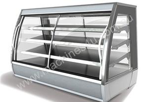 FPG 3A08-CU-FF 3000 Series Ambient Fixed Front Food Cabinet - 800mm