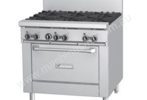 Garland GF36-2G24R Restaurant Series 2 burner combination range with standard oven