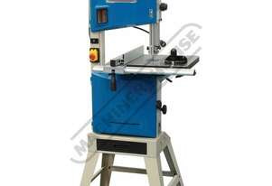 BP-310 Wood Band Saw 2 Blade Speeds - 370 & 800m/min 305mm throat Depth x 165mm Height Capacity