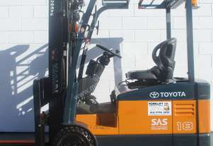 Toyota 7FBE18 1.8 ton Electric Forklift