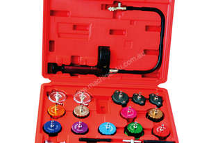 22130 - 21 PC COOLING SYSTEM AND RADIATOR CAP PRESSURE TESTER