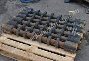 Poly disk type conveyor belt return rollers 1120 x