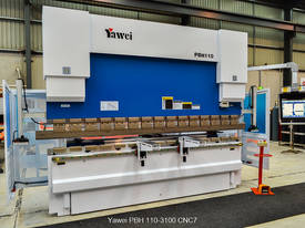 Yawei PBH 110-3100 CNC7 Precision CNC Synchronised Pressbrake - picture1' - Click to enlarge