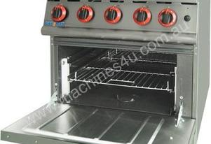 JZH-RP-4 - Four Burner with Oven