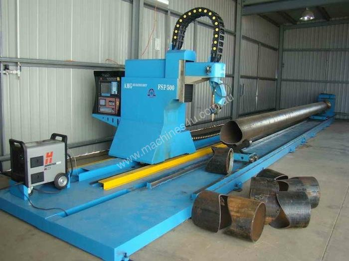 new yamada fsp600 cnc pipe profile cutting machine in regency park sa