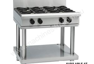 Waldorf 800 Series RNL8900G-LS - 900mm Gas Cooktop Low Back Version