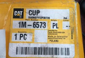 CATERPILLAR 1M-6573 Bearing-Cup fits 735 D350E #P
