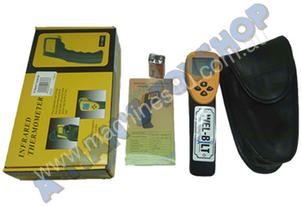 HEAT GUN 12-1 THERMOMETER LCD FACE