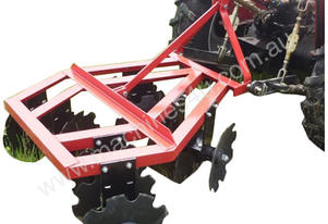 Farmtec DISC HARROW 5FT CAT1 3PL