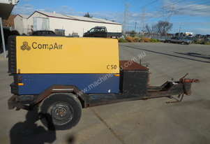 Compair C50 180cfm Air Compressor