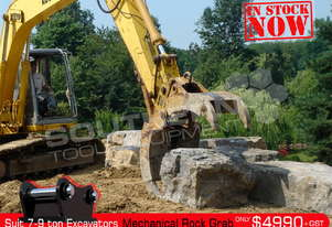 Mechanical Rock Grab - suit 7-9T Excavator ATTGRAB
