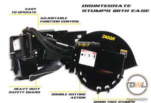 DIGGA STUMP GRINDER SKID STEER Stump Grinder Attachments