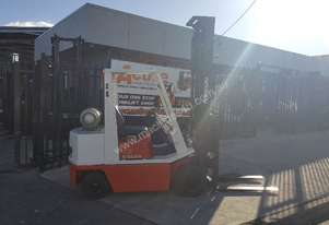 Nissan Forklift 2.5 Ton 4.5m Lift Runs well
