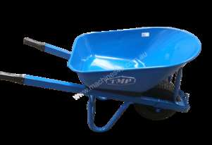 TMP HD 95LT BLUE BUILDERS STEEL BARROW - SHORT HANDLE