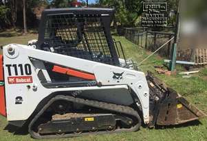 2016 Bobcat T110 Tracked Skid Steer, Only 450 hrs. EMUS NQ