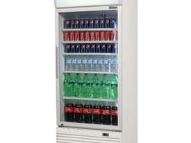 Bromic GM0660L Upright Chiller / Fridge Single Glass door (White) - picture0' - Click to enlarge
