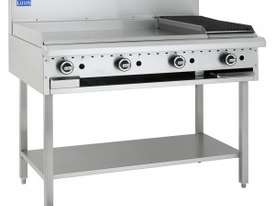 Luus Essentials Series 1200 Wide Grills & Barbecues 1200 grill & shelf - picture2' - Click to enlarge