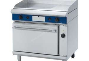Blue Seal Evolution Series GPE56 - 900mm Gas Griddle Electric Convection Oven Range
