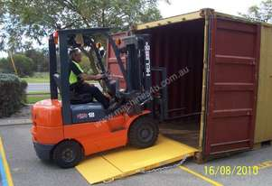 6500kg forklift container entry ramp FREE DELIVERY