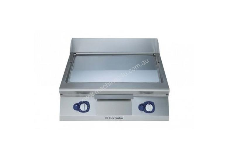 Electrolux 900XP E9FTGHCS00 800mm wide Sloped Chrome Plated Gas Frytop Griddle