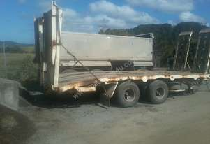 Unregistered - Tandem Pig Trailer For Sale