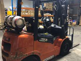 HELI 2.5T LPG CONTAINER ENTRY FORKLIFT - LOW HOURS - picture1' - Click to enlarge