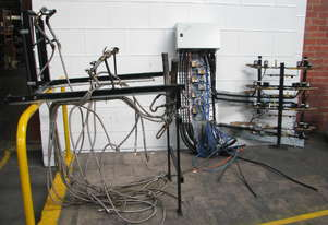 Industrial 7 Burner Gas Burner Unit System