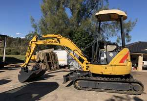LE25 2.5T Zero Tail Swing Excavator with Multiple Attachments