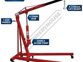 ALP-1 Automotive Lifting Garage Package Deal  Includes 1T Engine Crane, 450kg Engine Stand, 2T Troll - picture2' - Click to enlarge