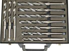 D122 Metric 2MT HSS Drill Set Ø14.5-Ø23mm 10 Piece - picture3' - Click to enlarge