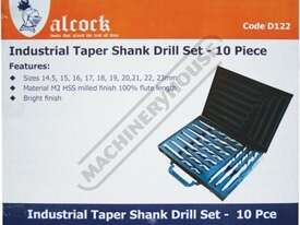 D122 Metric 2MT HSS Drill Set Ø14.5-Ø23mm 10 Piece - picture4' - Click to enlarge