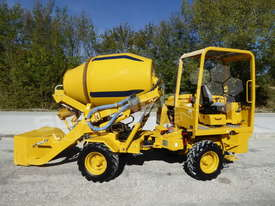 Concrete Mixer DB 110Y Self-Loading Mixer Truck ATTMIX  - picture1' - Click to enlarge