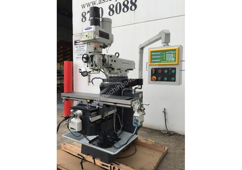 Swell Industrial Turret Milling Machine With Power Draw Bar Pabps2019 Chair Design Images Pabps2019Com