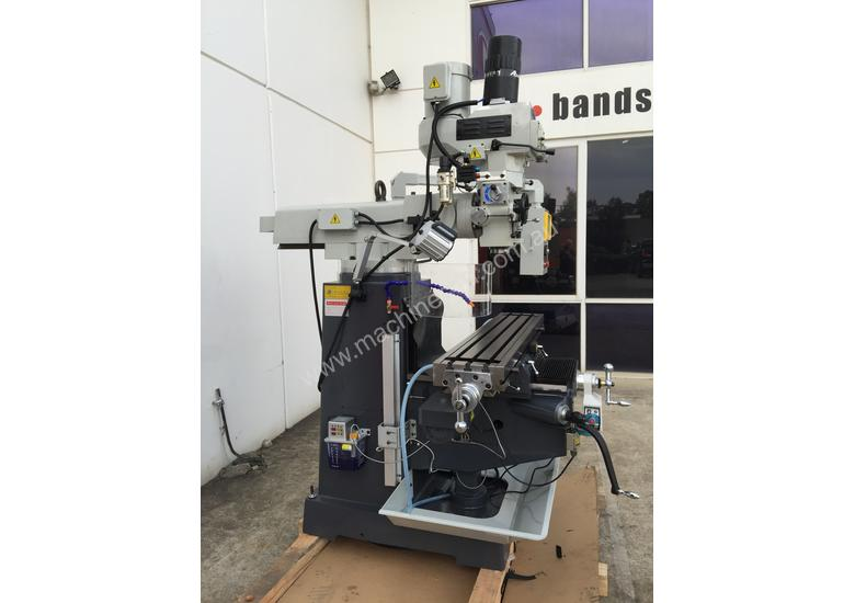 Industrial Turret Milling Machine With Power Draw Bar
