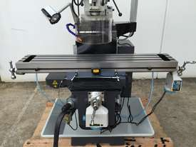 SM-KD4VS - ISO 40 - Industrial Turret Milling Machine With Power Draw Bar - picture1' - Click to enlarge