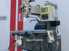 SM-KD4VS - ISO 40 - Industrial Turret Milling Machine With Power Draw Bar - picture0' - Click to enlarge