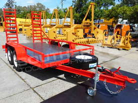 Plant Trailer 4.5 TON ATM 4500kg Deluxe suit Excavators ATTPT - picture0' - Click to enlarge