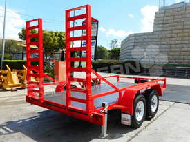 Plant Trailer 4.5 TON ATM 4500kg Deluxe suit Excavators ATTPT - picture1' - Click to enlarge