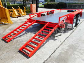 Plant Trailer 4.5 TON ATM 4500kg Deluxe suit Excavators ATTPT - picture6' - Click to enlarge