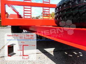 Plant Trailer 4.5 TON ATM 4500kg Deluxe suit Excavators ATTPT - picture7' - Click to enlarge