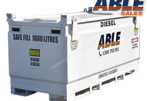 Able Fuel Cube Bunded 2000 Litre (Safe Fill 1800 Litre)