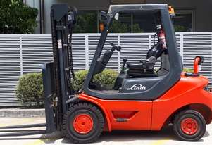 Used Forklift:  H25D Genuine Preowned Linde 2.5t
