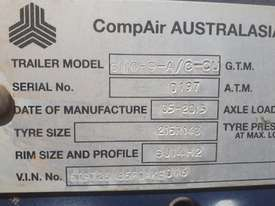 Compair C110 400CFM Compressor used - picture2' - Click to enlarge